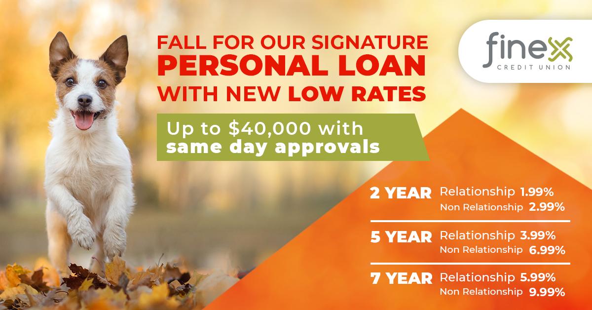 Signature Personal Loan